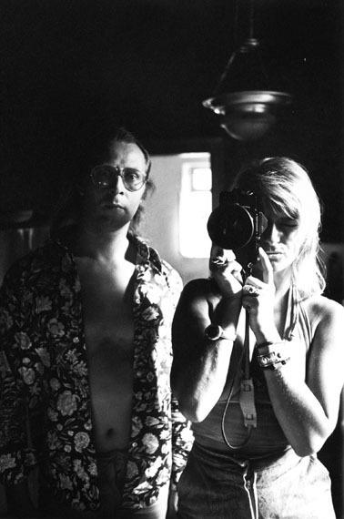 Angelika Platen und Sigmar Polke, Düsseldorf, 1971 © Angelika Platen / bpk