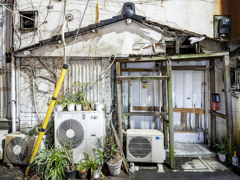 urban garden asakusa - tokyo von Maximilian Gottwald