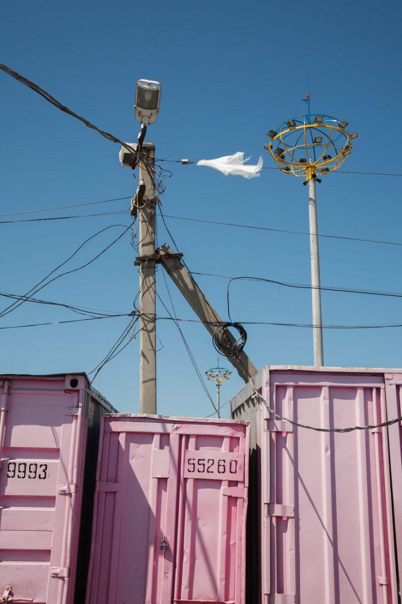 Rose street / 7km – Field of wonders, 2007 von Kirill Golovchenko